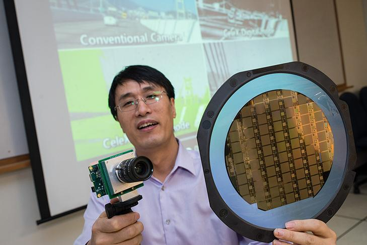 NTU Singapore Assistant Professor Chen Shoushun has developed an ultrafast camera with a unique in-built circuit,