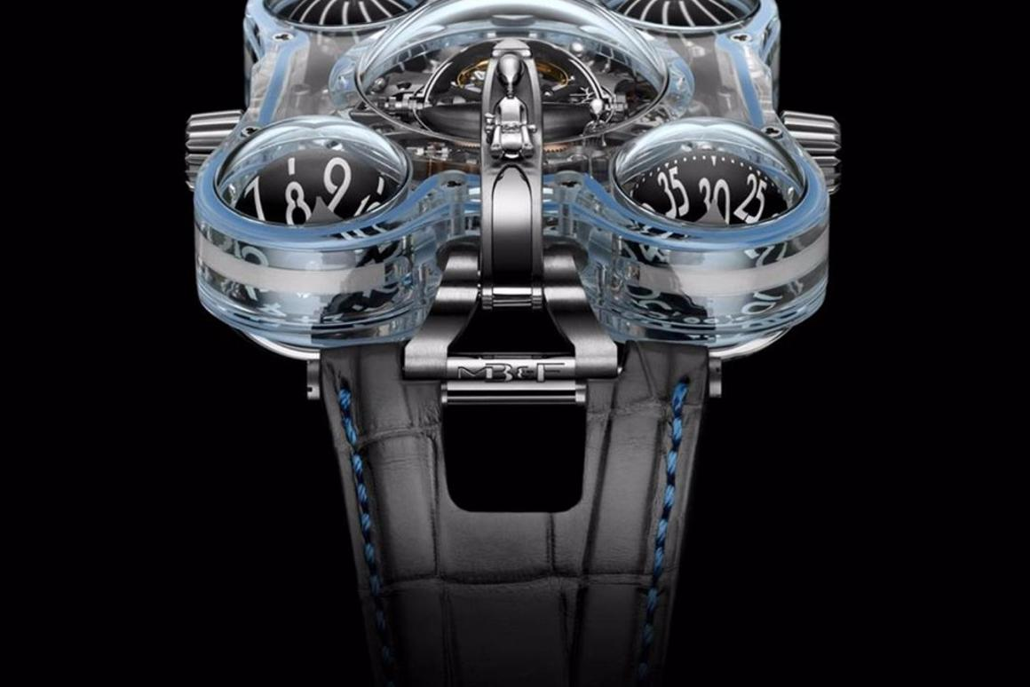 The HM6 Alien nationhas a case made almost entirely of sapphire