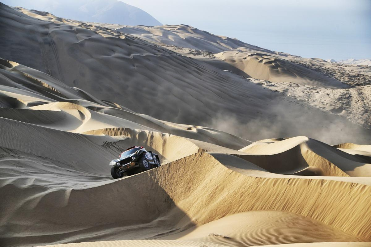 Two weeks of this? The entire 2019 Dakar Rally will be held in the deserts of southern Peru, meaning sand, sand and more sand instead of the more diverse terrains of previous years