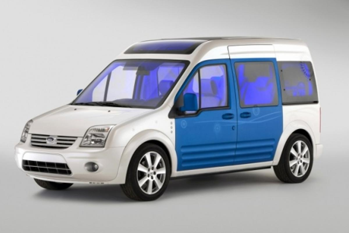 Ford's Transit Connect Family car combines style with fun extras.