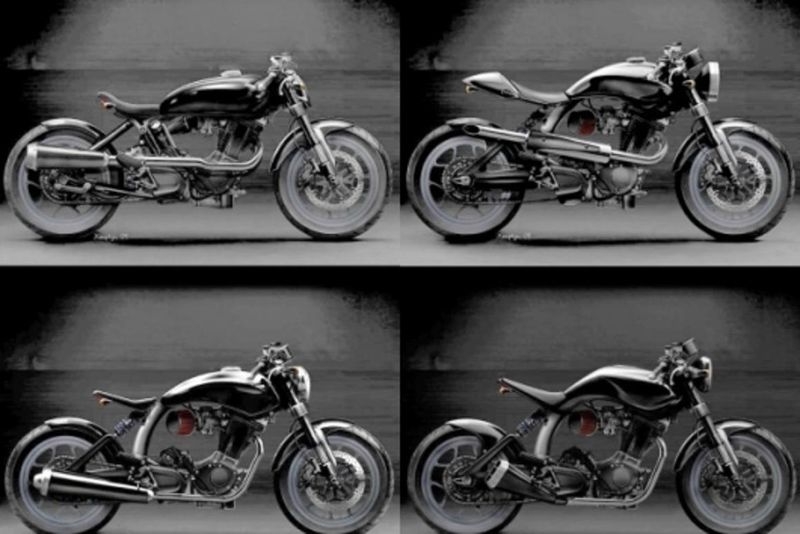 British Mac Motorcycles unveils range of Buell-engined bikes