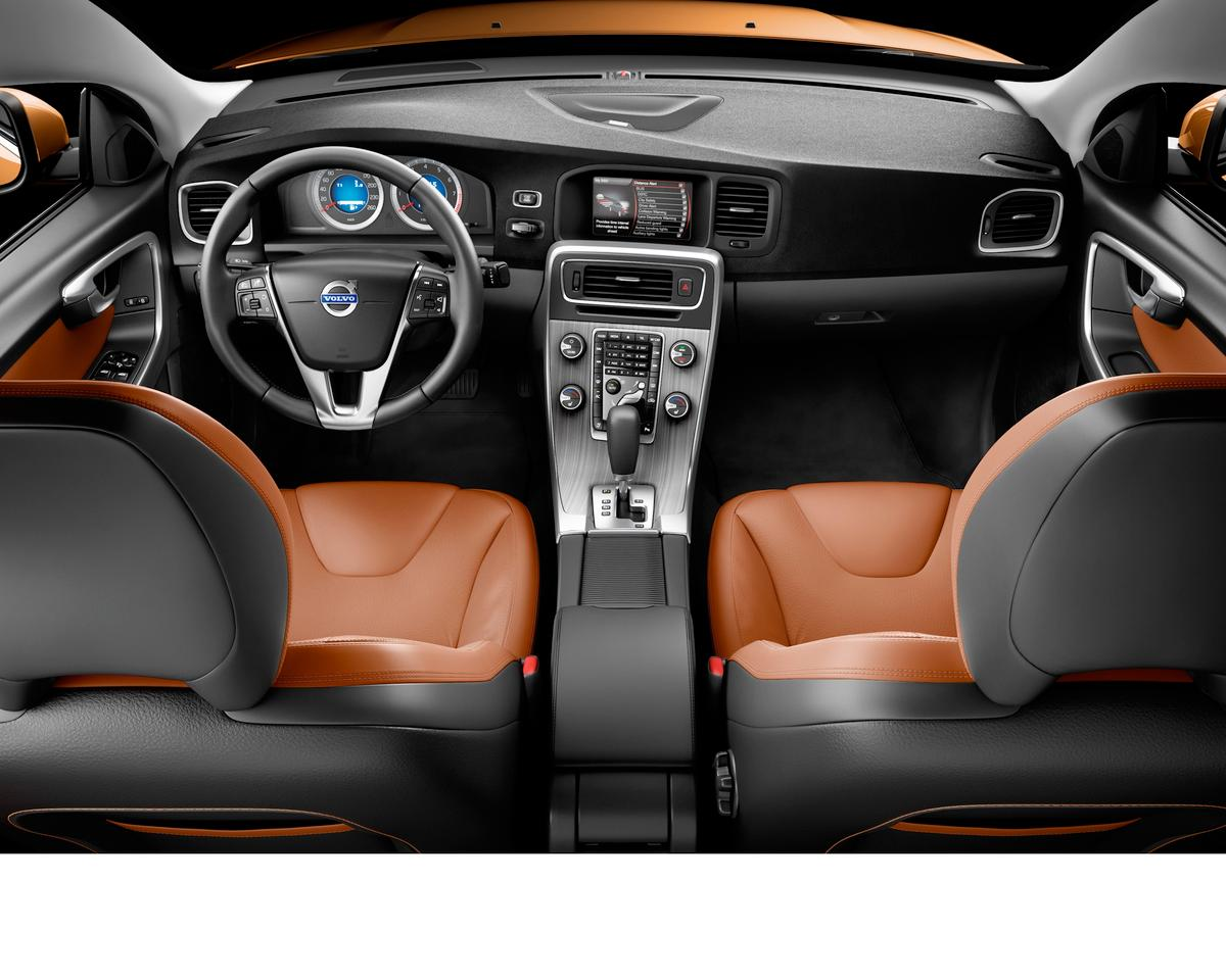 The interior of the all-new Volvo S60
