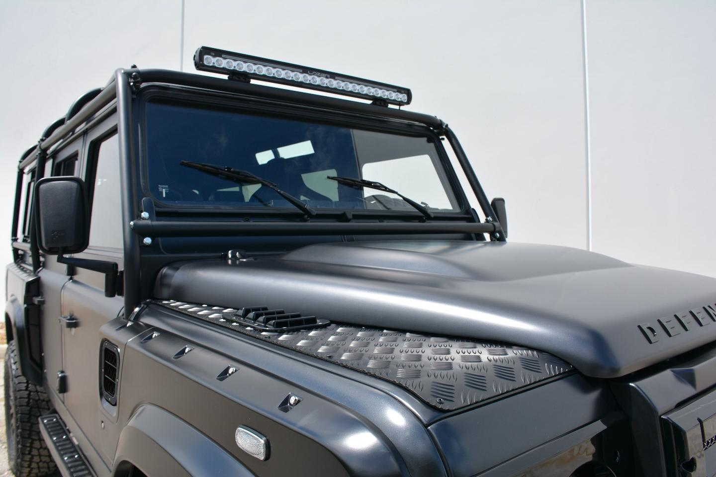 Icons collide: Land Rover Defender