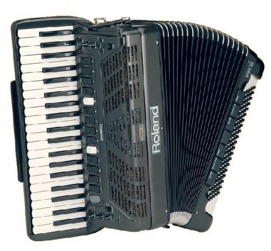 The Piano Accordion goes digital