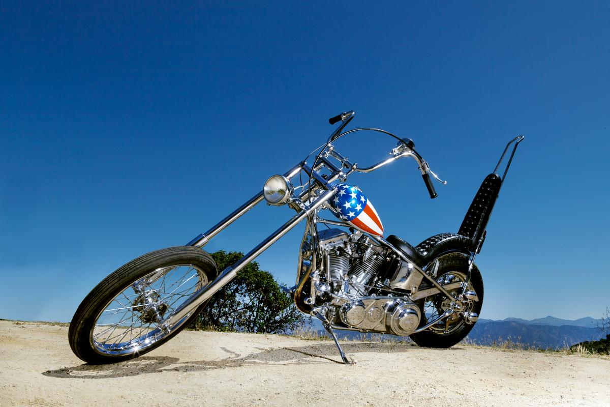 "The ""Captain America"" chopper ridden by Peter Fonda in Easy Rider is expected to become the world's most valuable"
