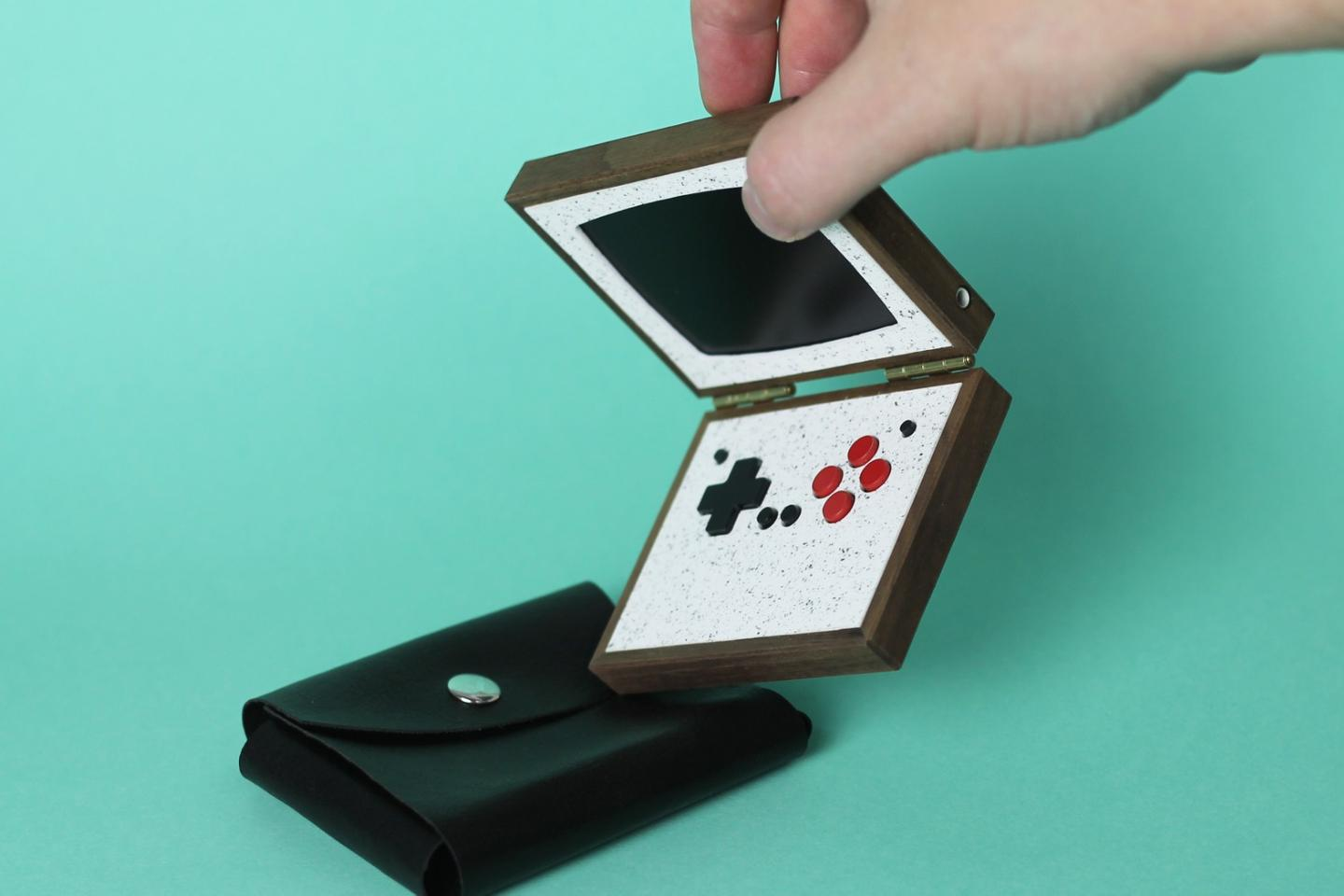 Swedish retro tech designer gives pocket gamers the choice