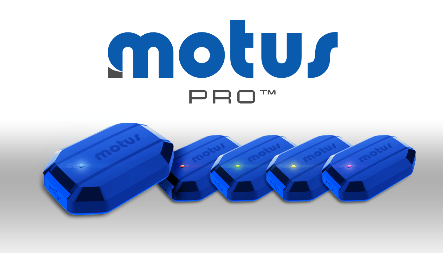 MotusPro is made up of five separate 6-axis motion sensors