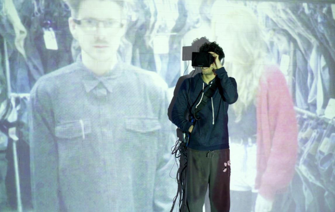 In a attempt to look at how our relationship with technology can potentially change our inherent identity, Mark Farid will spend 28 days isolated inside virtual reality
