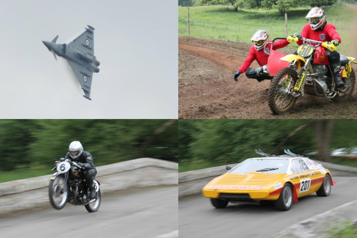 The Cholmondeley Pageant of Power showcases the best of historic and contemporary vehicular power, whether on land, on the water or in the air