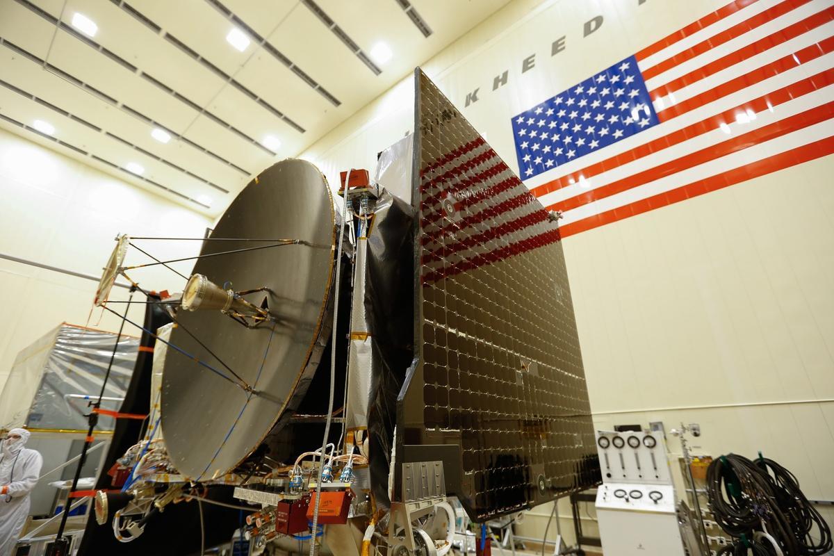 NASA's OSIRIS-REx spacecraft, which is now undergoing environmental testing