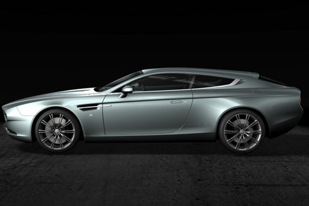 The Zagato Shooting Brake harks back to the styles of the 1960s
