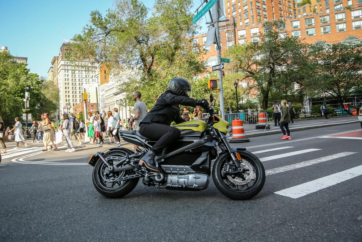 Livewire's performance specs are in: 105 horsepower, 86 lb-ft, 146-mile urban range