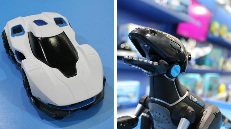 WowWee showed off its upcoming Rev and MiPosaur toys at the 2015 Toy Fair in London (Photo: Stu Robarts/Gizmag)