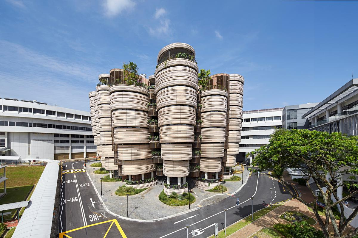 Learning Hub makes up just part of a £360 million (roughly US$541 million) redevelopment of Nanyang Technological University (Photo: Hufton and Crow)