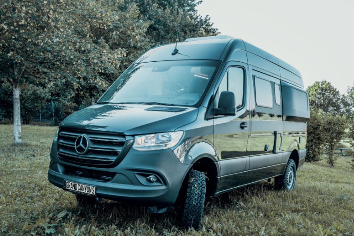 Hymer Previews The Future Of Mercedes Sprinter 4x4 Adventure Camper Vans