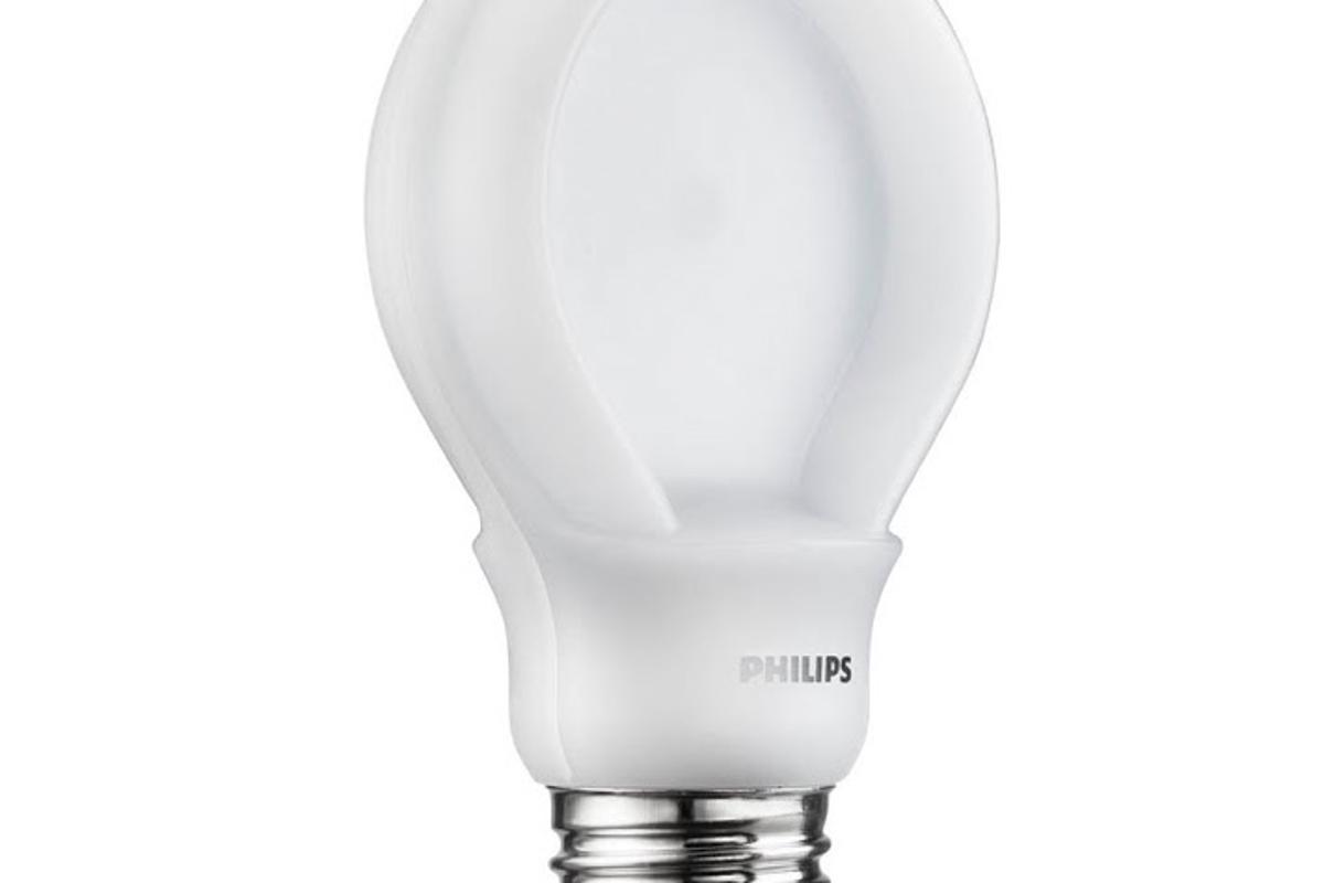 Philips' new 75-watt equivalent SlimStyle LED light bulb