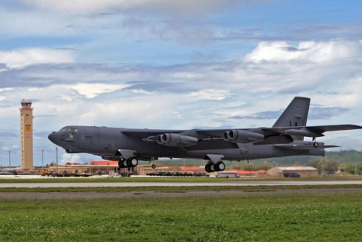 B-52 Stratofortress U.S. Air Force photo/Senior Master Sgt. Mahmoud Rasouliyan