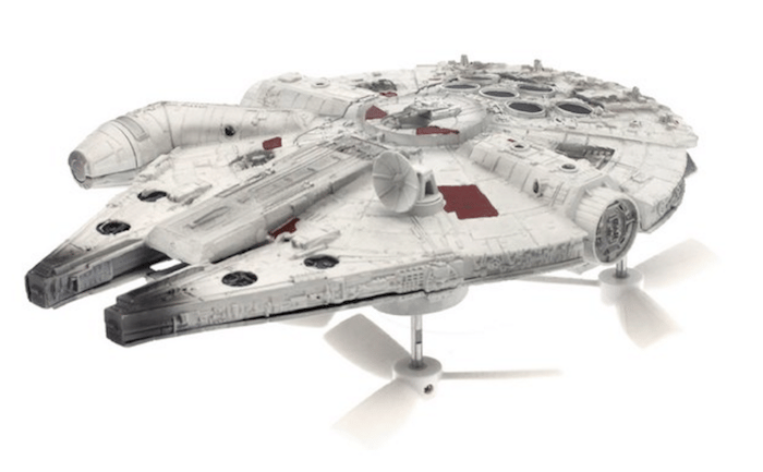 Propel has announced a line of Star Wars drones, including the iconic Millennium Falcon