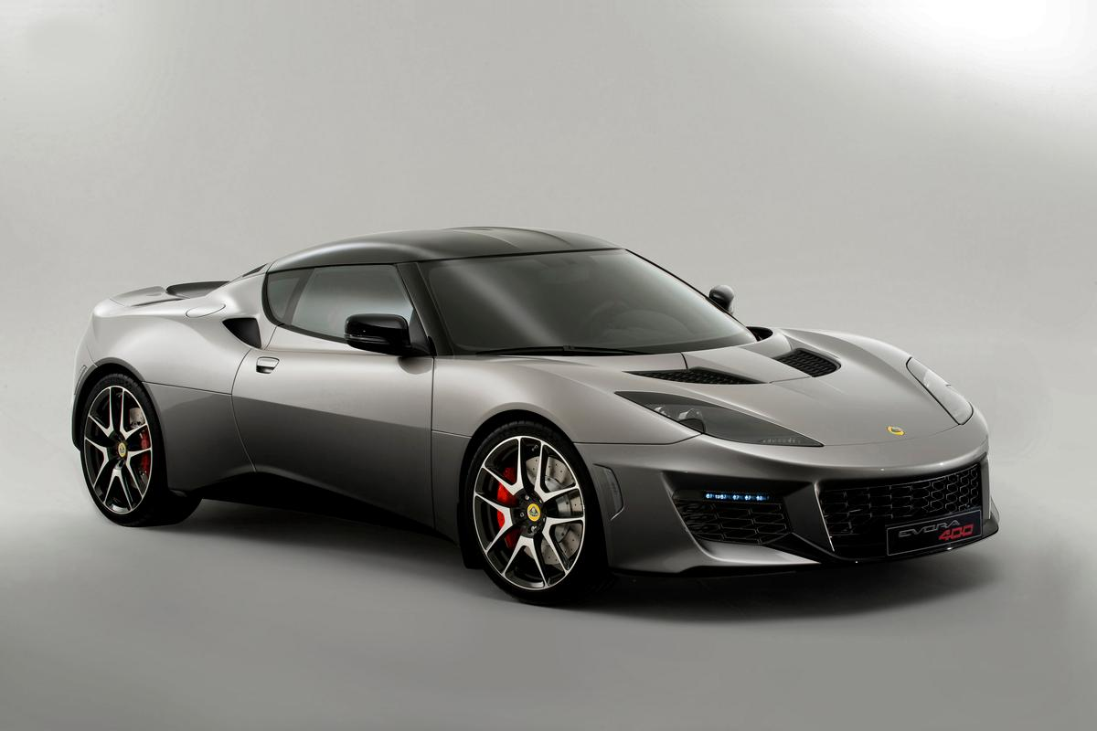 The new and improved Lotus Evora 400