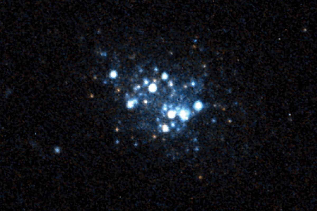 Hubble image of AGC 198691