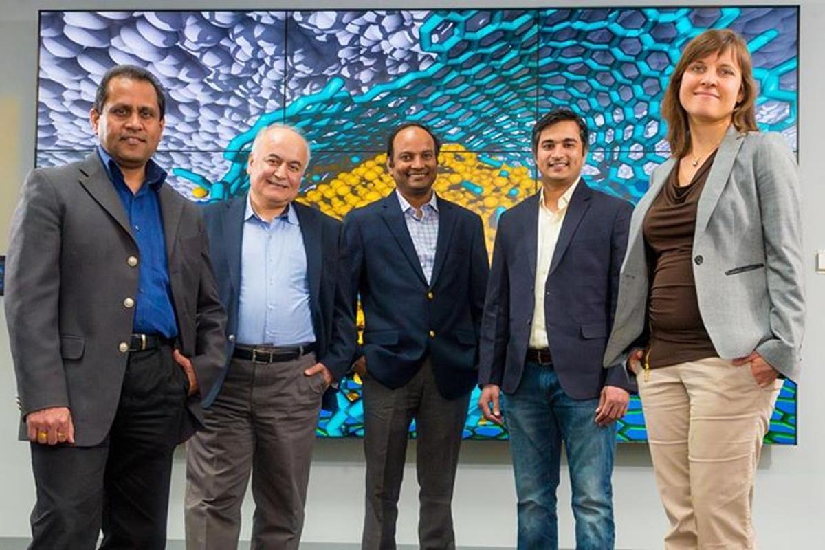 Researchers Ani Sumant, Ali Erdemir, Subramanian Sankaranarayanan, Sanket Deshmukh, and Diana Berman combined diamond, graphene, and carbon to achieve superlubricity
