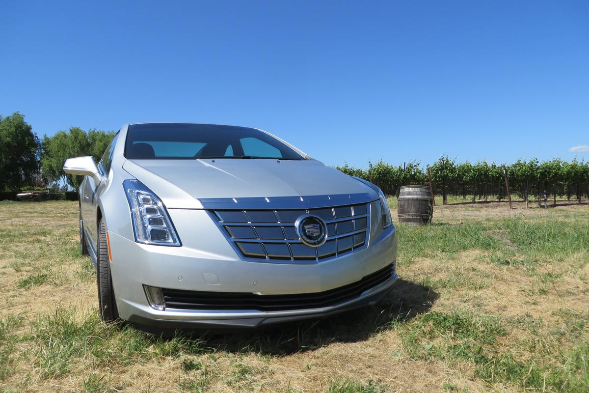Exploring the Bay Area in the Cadillac ELR