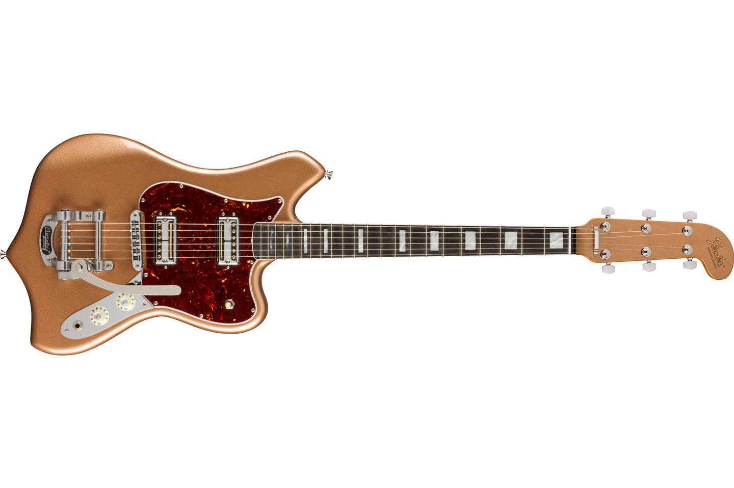 The Maverick Dorado is based on a short release guitar from 1969 that was made using spare parts from Fender models