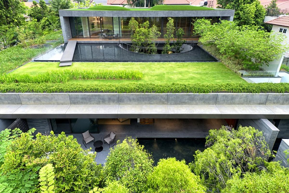 The Wall House was completed in 2013 (Photo: Bryan van der Beek and Edward Hendricks)