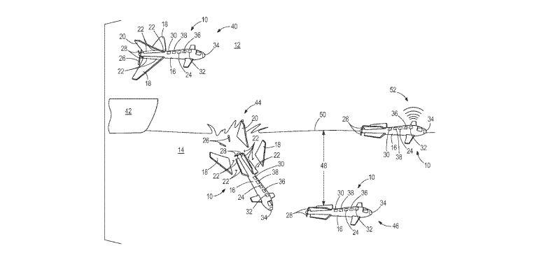 Boeing's concept for a UAV that transforms into a submarine
