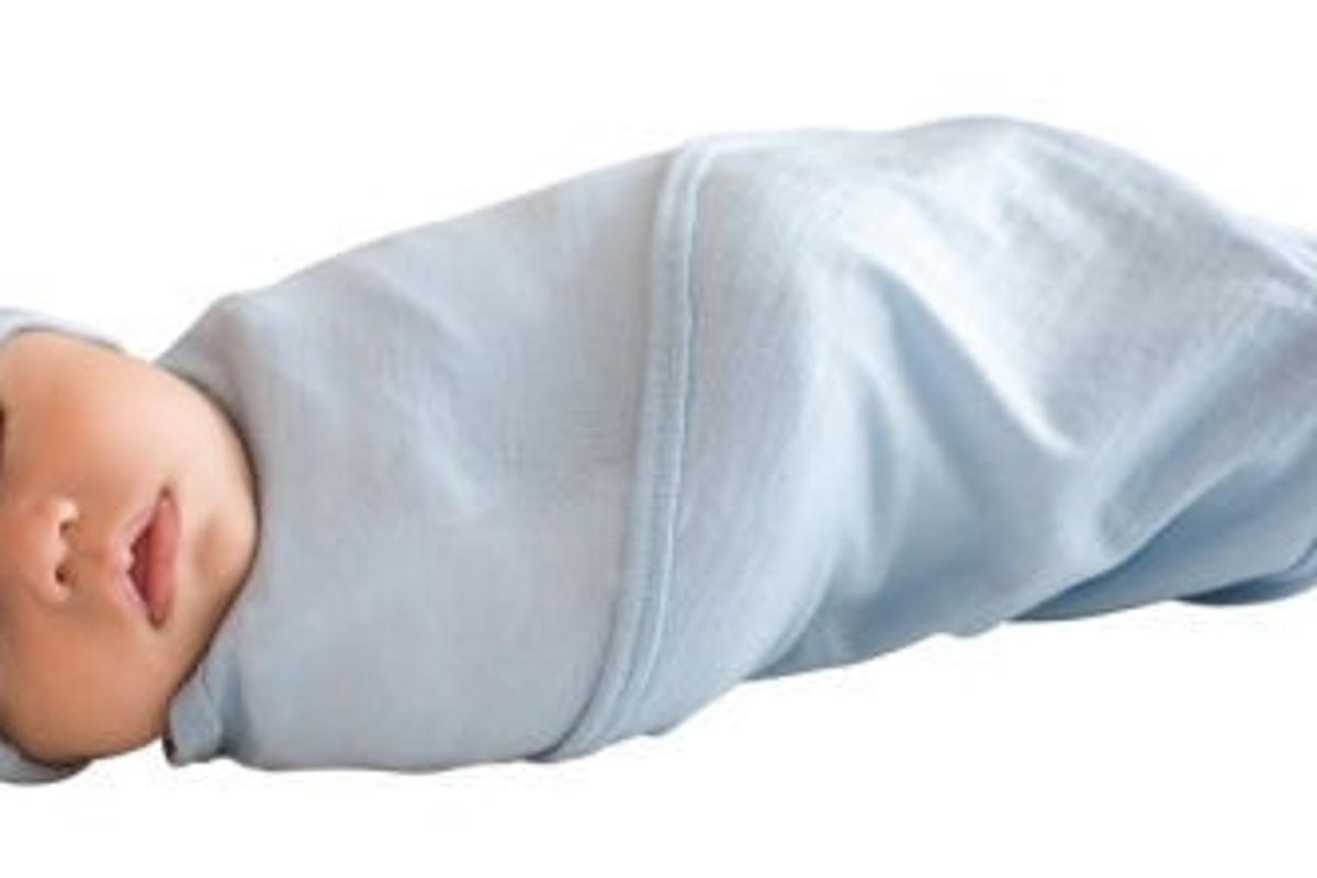 Cocooi baby swaddle helps keep baby safe and warm