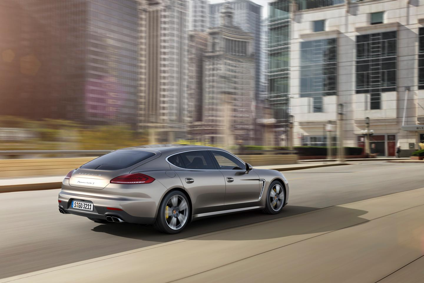 The all-new Panamera Turbo S