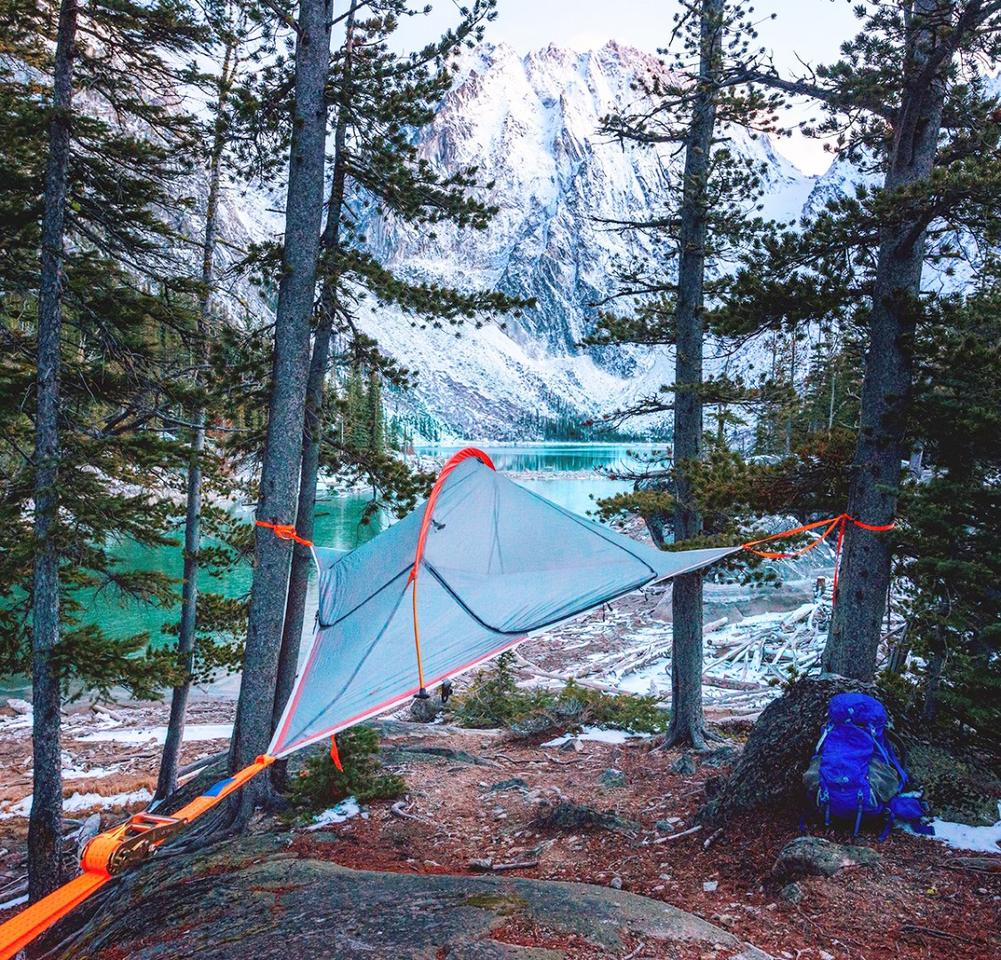Tentsile Flite: A lightweight off-ground tree tent for two