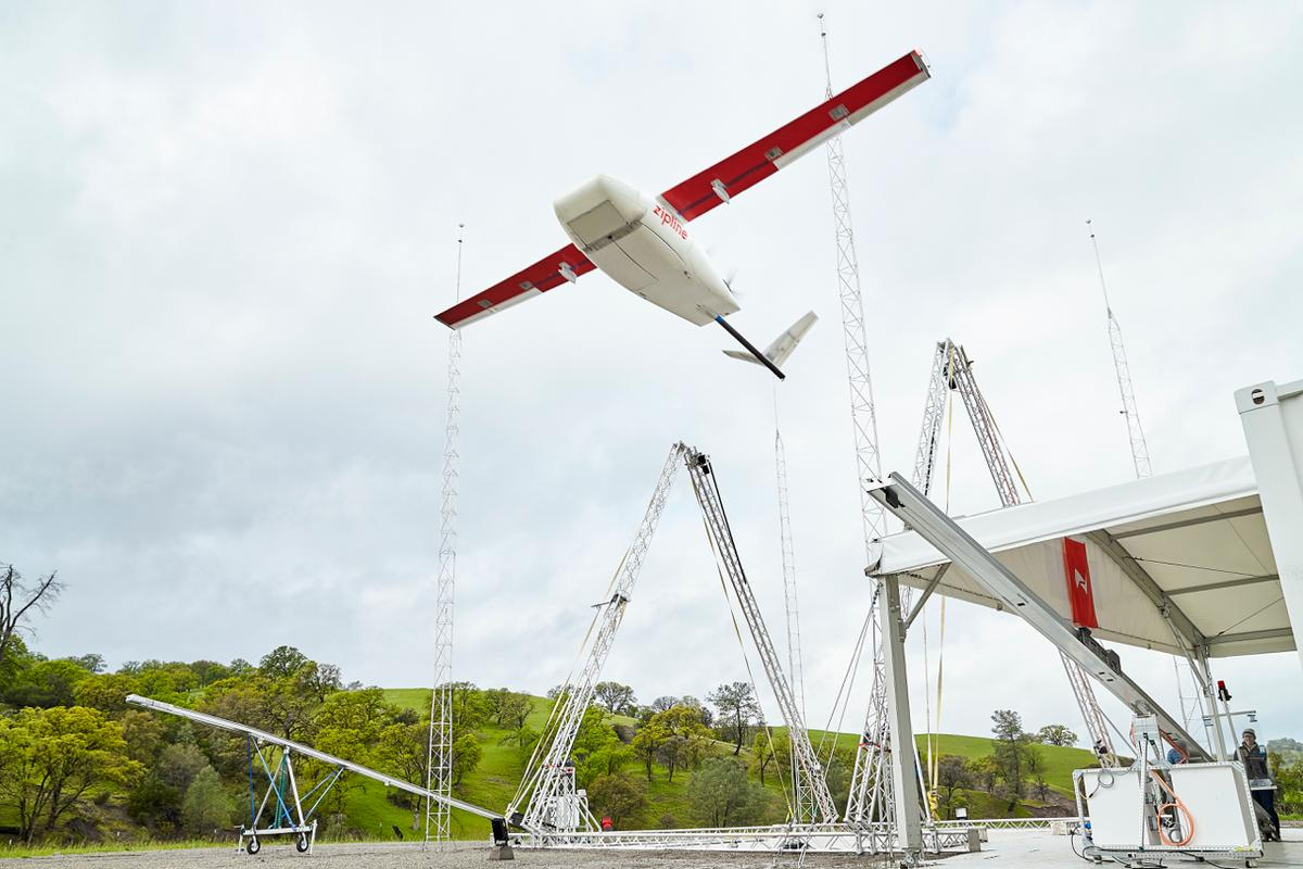 Drones will reportedly now be launched within one minute of receiving an order