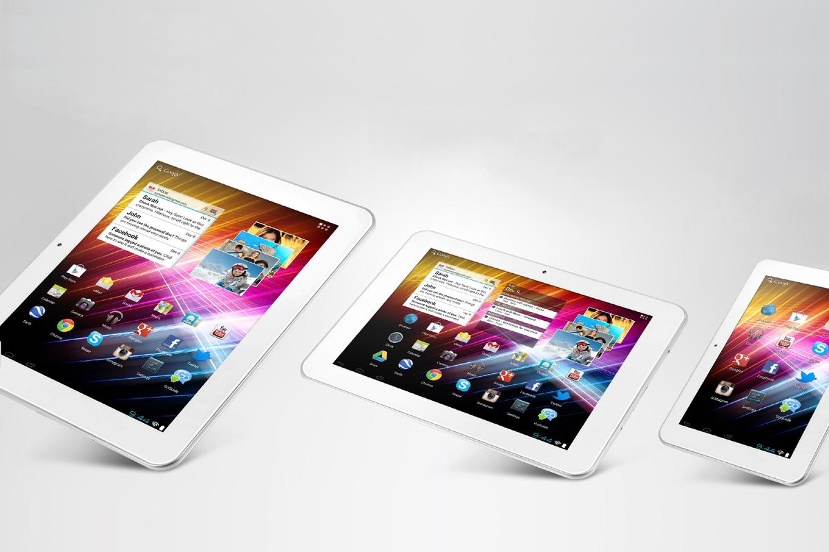 Ergo Electronics has announced three new GTi Android tablets and a very inexpensive color tablet/e-reader