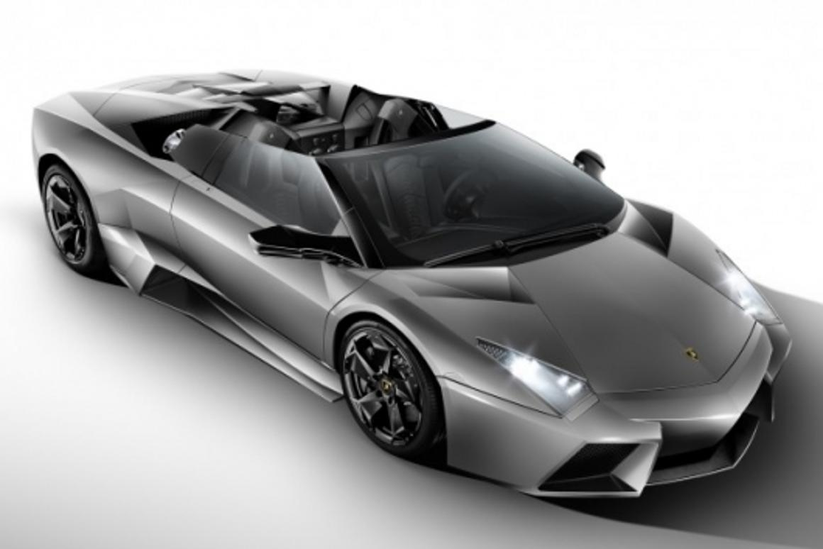 The Lamborghini Reventón Roadster - less a car than a million Euro, 330 kmh carbon fiber sculpture
