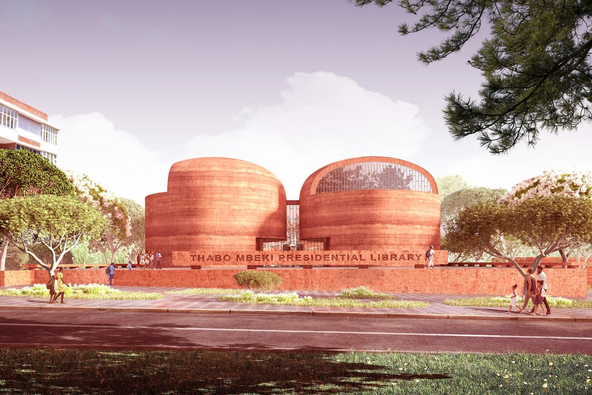 The Thabo Mbeki Presidential Library will measure 5,400 sq m (58,125 sq ft) and will include a museum, temporary exhibition space, research center, auditorium, women's empowerment center, and more