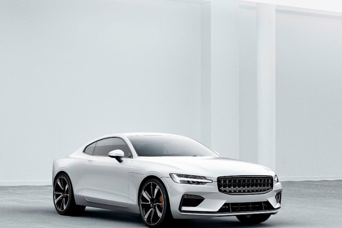The Polestar 1 offers 600 hp and 738 lb-ft of torque