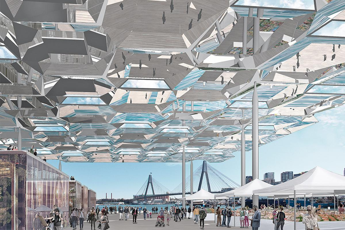 The Future Project of the Year Winner was a design for the Sydney Fish Markets by Allen Jack+Cottier Architects and NH Architecture
