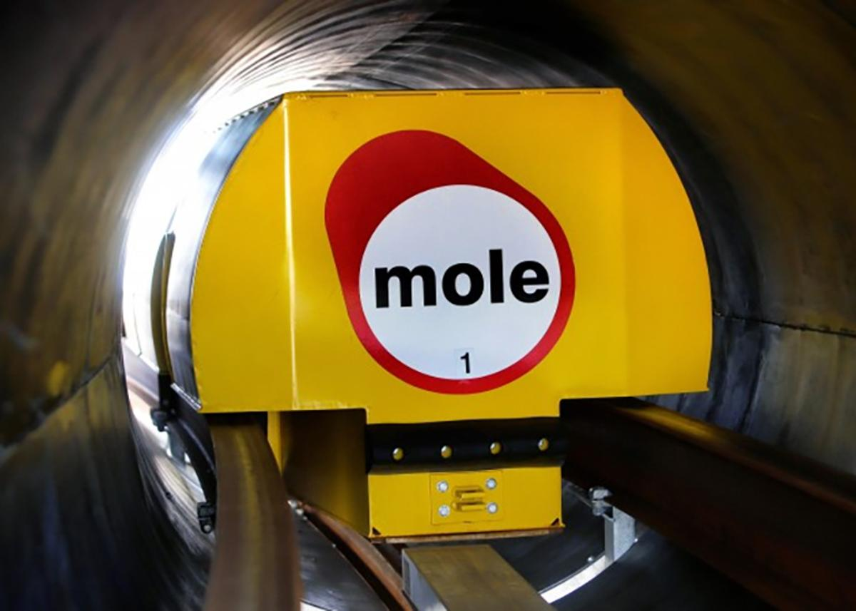 UK firm Mole Solutions is exploring the possibility of using small robot trains running on underground tracks to manage deliveries (Photo: Mole Solutions)