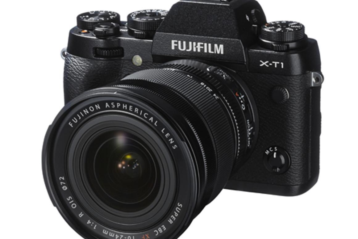 The Fujifilm X-T1 mirrorless interchangeable lens camera