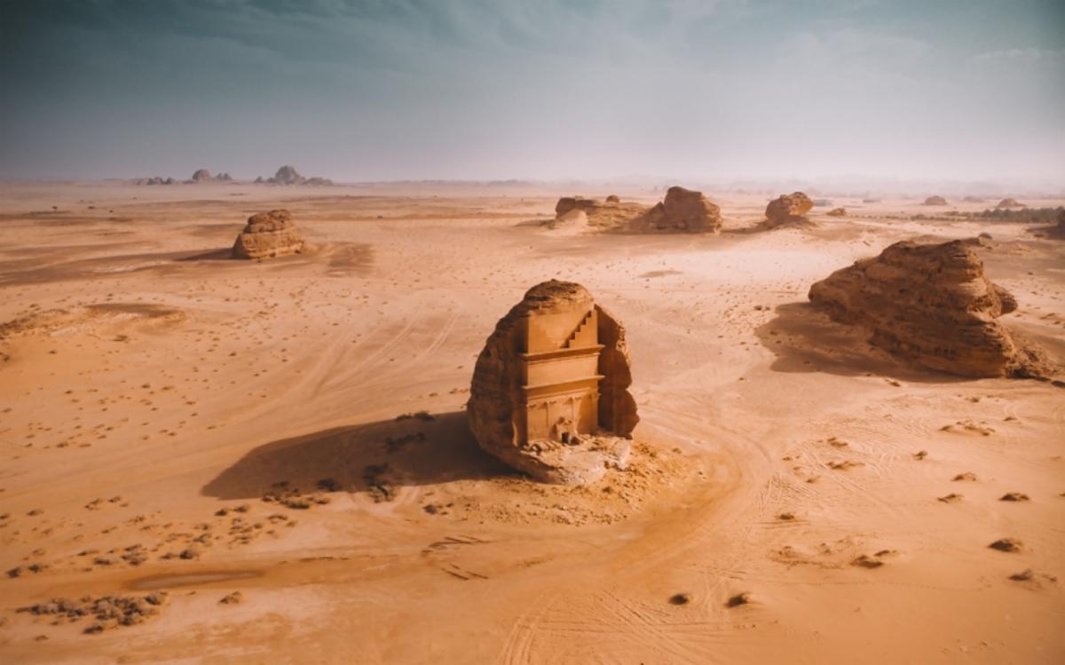 Mada'in Saleh: Winner in the Nature category