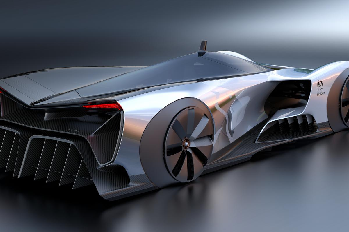"""Billed as a """"plausible"""" racer of the future, Holden's Time Attack Concept is anexploration of advanced racing technologies"""