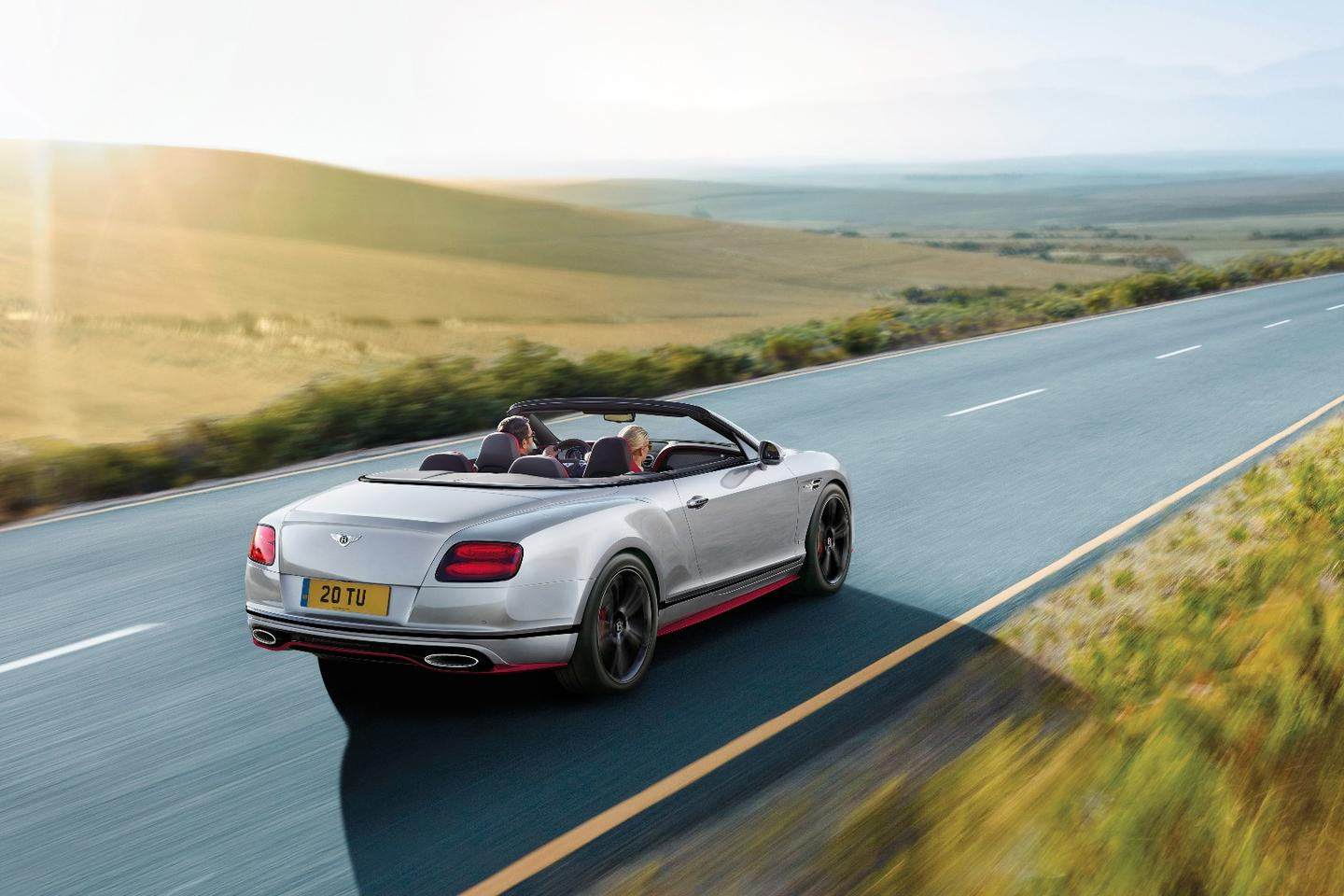 The Bentley Continental GT Speed also comes in a convertible