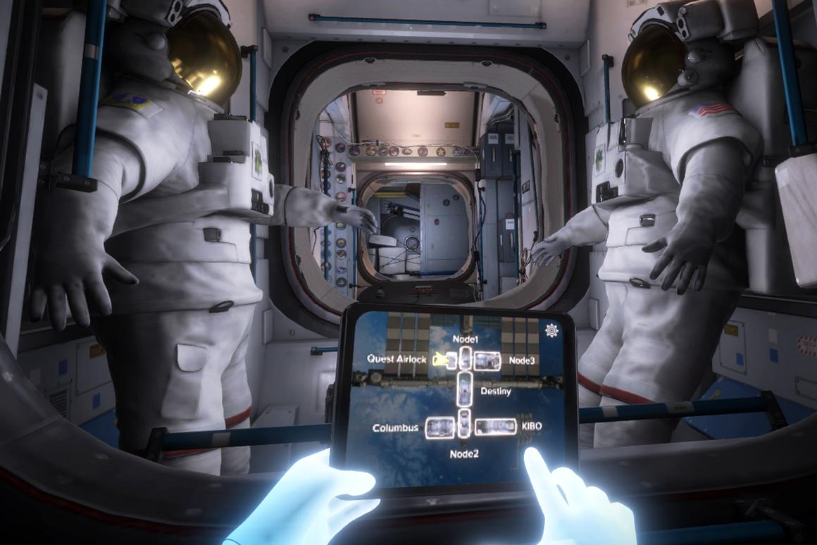 Mission: ISS is a virtual trip to the InternationalSpace Station, free for Oculus Rift and Touch