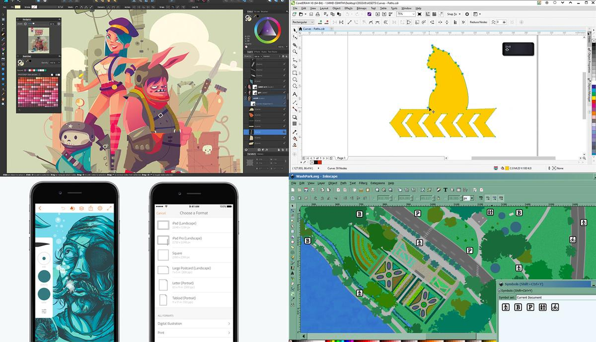 A primer on the differences between Illustrator and Photoshop, and the best Illustrator alternatives