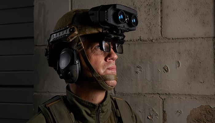 Rockwell Collins has unveiled its new HUD system for warfighters, which combines multispectral imaging with data from command centers and other sources