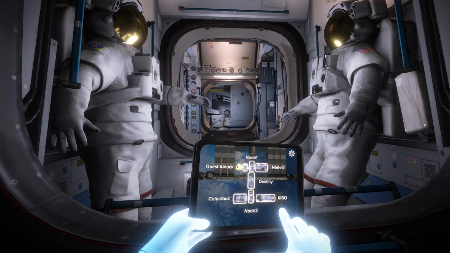 Mission: ISS is a virtual trip to the International Space Station, free for Oculus Rift and Touch