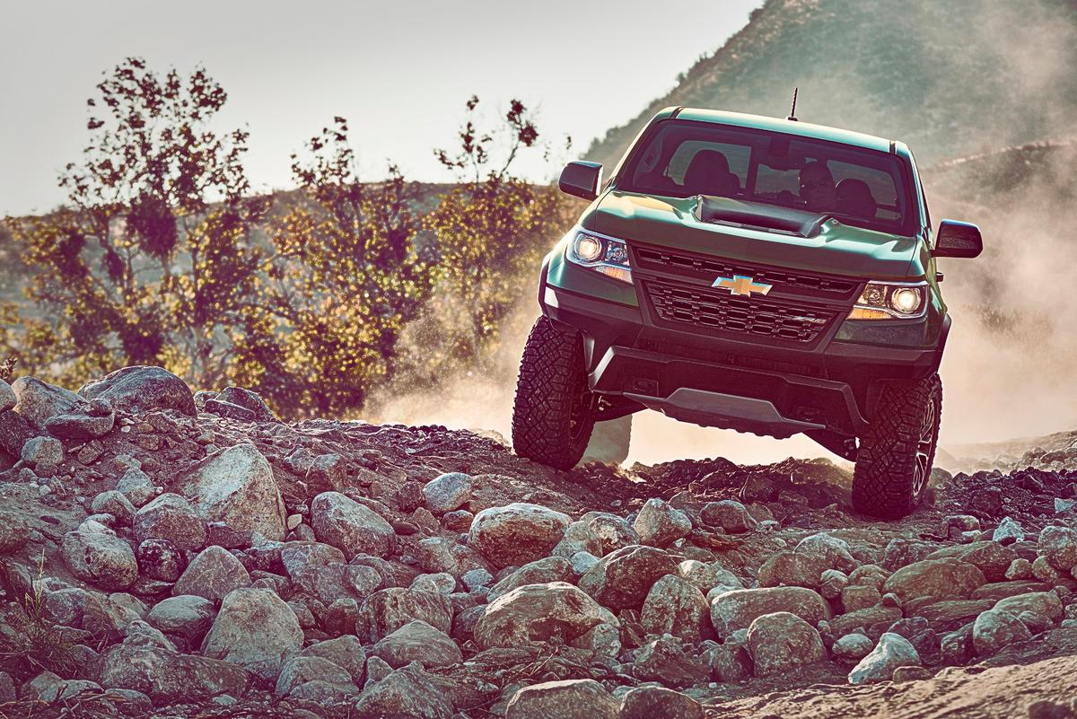The Colorado ZR2 is a unique take on the off-road truck