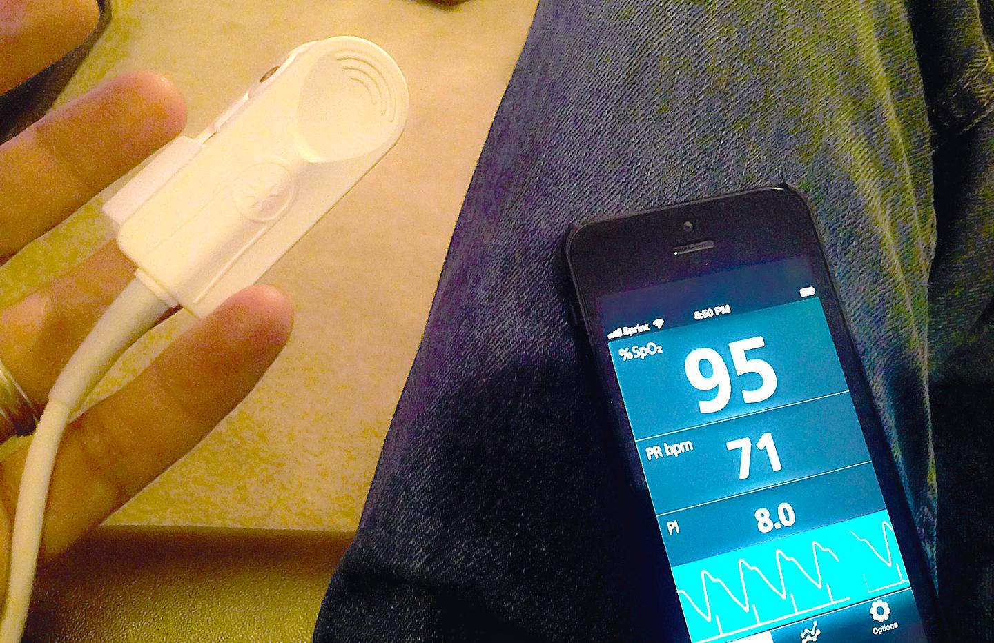 Review: Masimo iSpO2 Pulse Oximeter