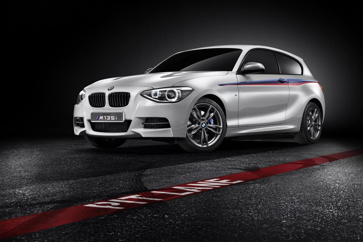 The BMW Concept M135i takes the 1 Series to performance level
